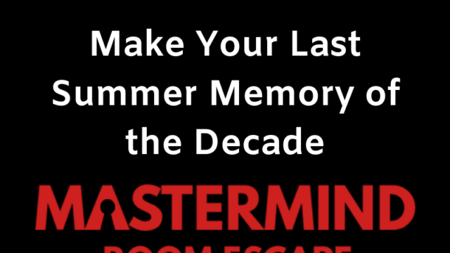 Featured image for Make Your Last Summer Memory of the Decade at an Escape Room