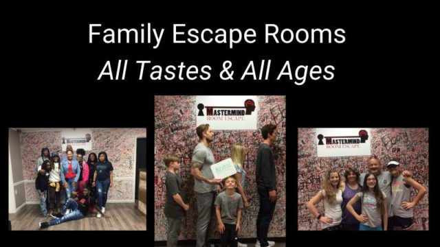Featured image for Family Escape Rooms – All Tastes & All Ages