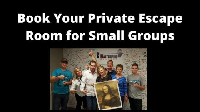 Featured image for Escape Room for Small Groups – We're Open This May